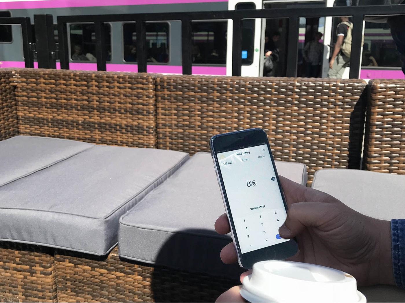 MobilePayn ja VR:n yhteistyö käynnistyy - MobilePay.fi